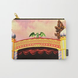 Surreal Gothic Theatre a Dragons View, Digital Photograph Carry-All Pouch