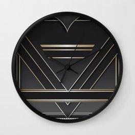 Art deco design IV Wall Clock