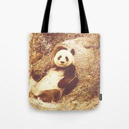 Vintage Animals - Panda Tote Bag
