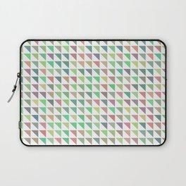 edge of autumn geometric pattern Laptop Sleeve