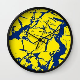 marble study  Wall Clock