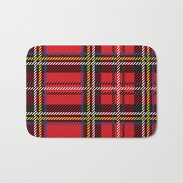 red kilt Bath Mat