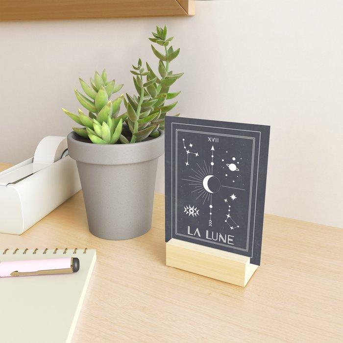 The Moon or La Lune Tarot Mini Art Print