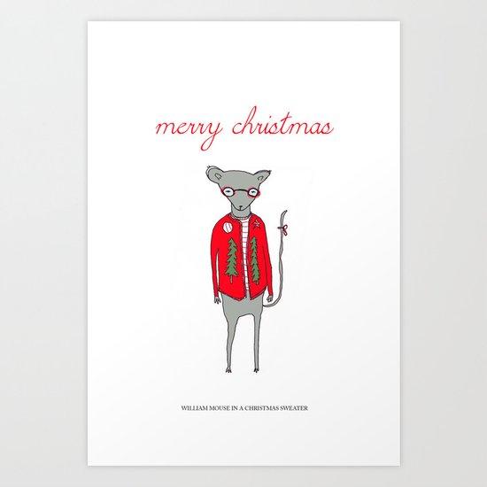 William Mouse Art Print