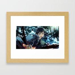 Kirito v1 Framed Art Print