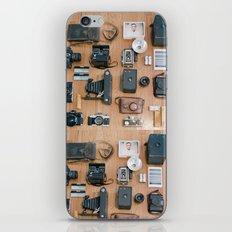 Cameras Organized Neatly iPhone & iPod Skin