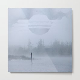 Waterline Metal Print
