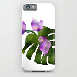 Jungle Lily Love  iPhone Case