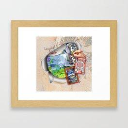 Language of Light Workshop Framed Art Print