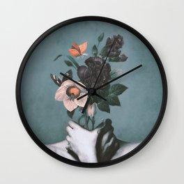 inner garden 3 Wall Clock