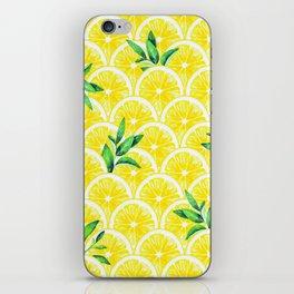 Zesty - lemonade iPhone Skin