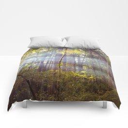 Light Through the Trees Comforters
