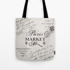 paris market Tote Bag