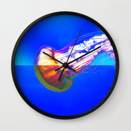 Psychejellic Wall Clock