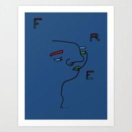 FRE Art Print