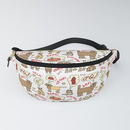 What Dogs Think and Say Fanny Pack