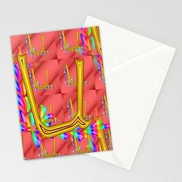 U - pattern 1 Stationery Cards