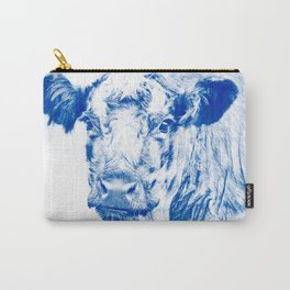Ardnamuchan Coo - Blue Carry-All Pouch