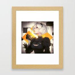 2B Framed Art Print