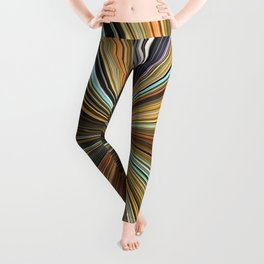 Fall Color Ball Leggings