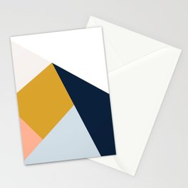 Mid Century Modern Vintage Stationery Cards