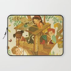 Our House In the Woods Laptop Sleeve