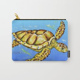 Sea Turtle / No Background Carry-All Pouch