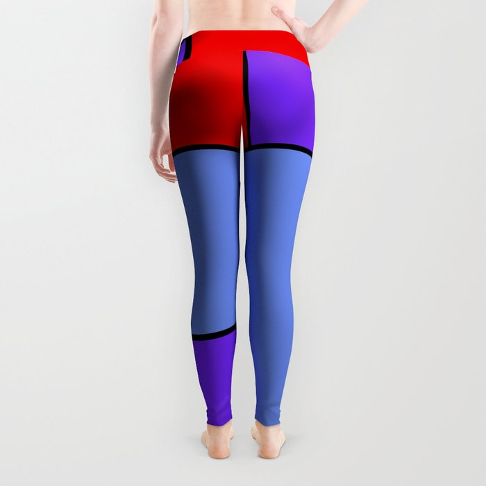 Abstract #482 Leggings