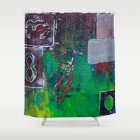 infinite Shower Curtains featuring Infinite by Cifertherhyme