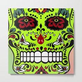 Sugar Skull #7 Metal Print