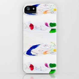 Blind Human Contact iPhone Case