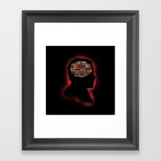Crowley's Phrenology Framed Art Print