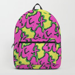 Stay Graffiti Pattern - Pop Pink Backpack