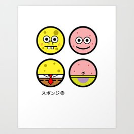 Andy Awesome® Series 2 ID18 Art Print