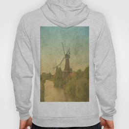 Landscape with mills Hoody