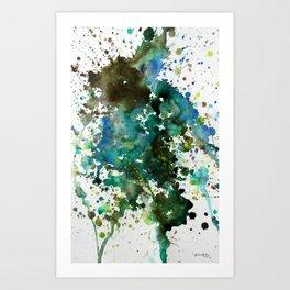 Earth Tone 1 Art Print