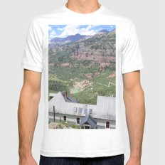 The View MEDIUM Mens Fitted Tee White