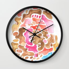 170626 Patches of Thoughts 3 Wall Clock