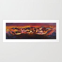 Jerusalem at Dawn Art Print