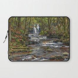 Ingleton falls yorkshire waterfall Laptop Sleeve
