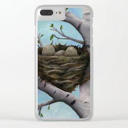 Lemongrass Clear iPhone Case