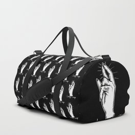 Lady Coup Gang Sign Duffle Bag