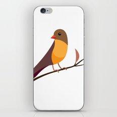 Yellow Breasted Bird iPhone & iPod Skin