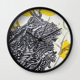 Posh Paisley Wall Clock