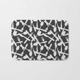 Kitchen cutlery Bath Mat
