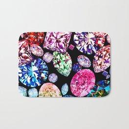 JCrafthouse World Diamond Collage Bath Mat