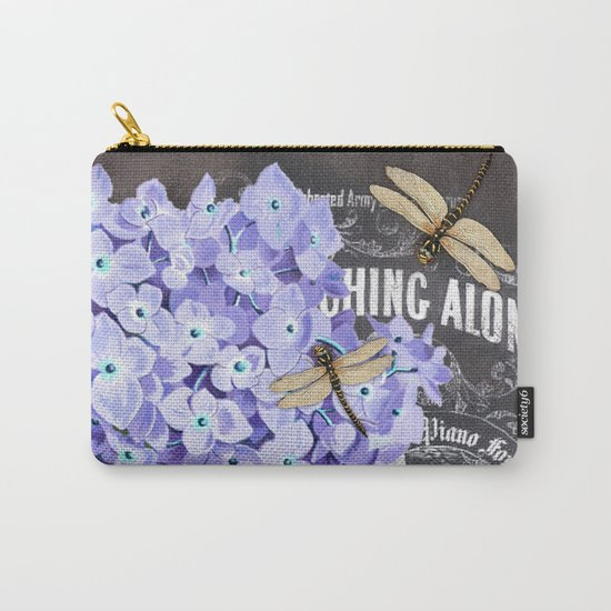Vintage Flowers #4 Carry-All Pouch