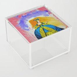 Marie Antoinette by Michael Moffa Acrylic Box