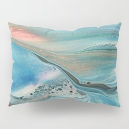 Pearl marble abstraction Pillow Sham