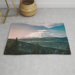 Saints and Sinners - 126/365 Nature Photography Mount St. Helens Rug